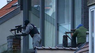 القضاء على شخص متورط في اعتداءات بروكسل وإصابة 4 شرطيين