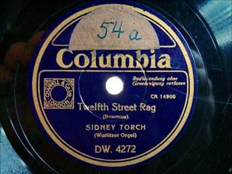 Sidney Torch an der Wurlitzer Orgel - Twelfth Street Rag - ca. 1937