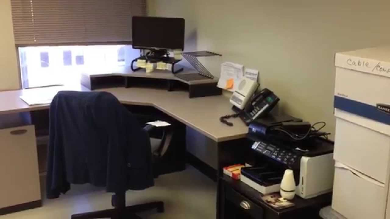 Bestar Hampton Corner Workstation Assembly Service Baltimore By Furniture  Assembly Experts LLC   YouTube