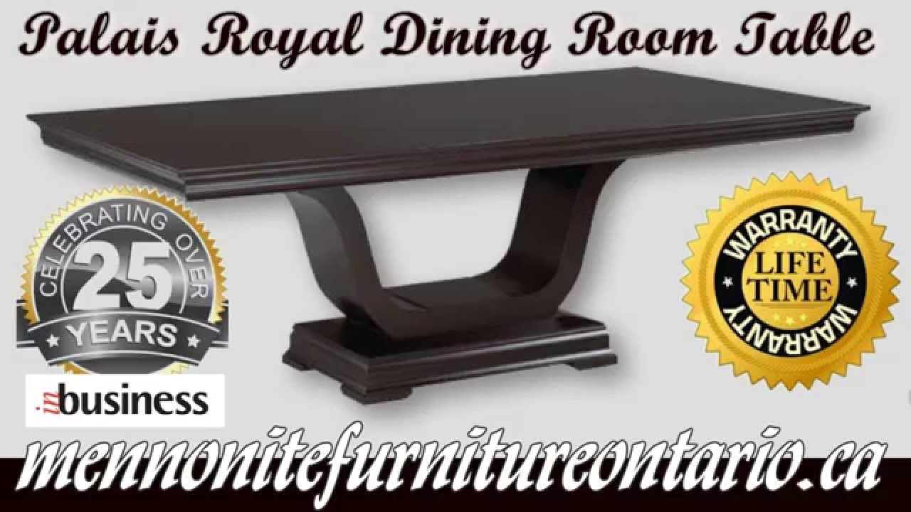 Mennonite Bedroom Furniture Mennonite Dining Room Table Palais Royal Dining Room Table
