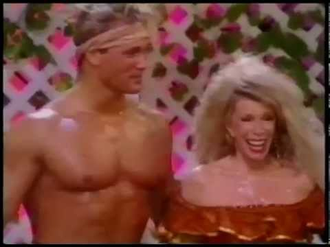 Joan Rivers With Bodybuilder Mike O'Hearn