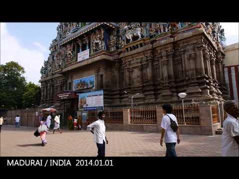 Meenakshi Temple, Madurai / India 2014 HD