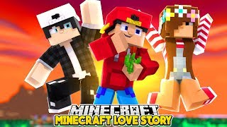 RAVEN GETS LITTLE ROPO A DATE AFTER HE BROKE UP WITH LITTLE ALLY | Minecraft LOVE STORY | RP