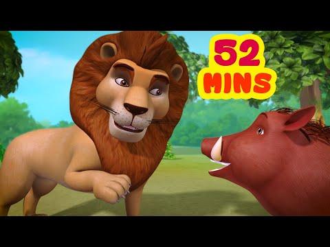 शेर और सूअर
