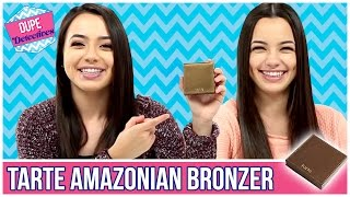 BEST DUPES for Tarte Bronzer?! Dupe Detectives w/ the Merrell Twins
