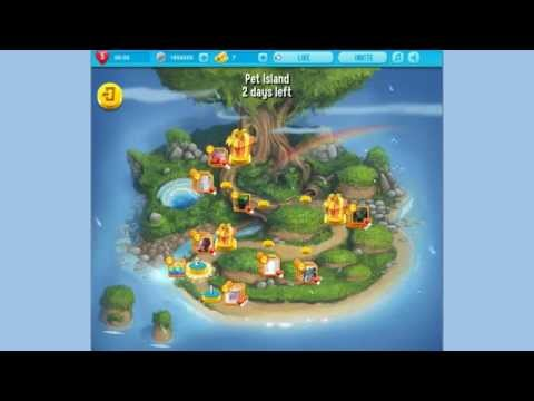 Pet rescue saga island level 7 weather alert week 42 doovi for Pet island level 4