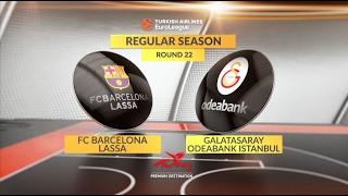 Highlights: FC Barcelona Lassa-Galatasaray Odeabank Istanbul