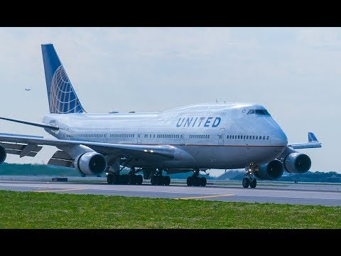 Beijing to Chicago - United Airlines 747-400 (PEK-ORD)