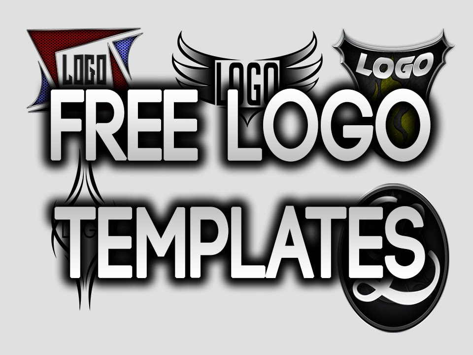 Free Logo Templates | Free Logo Templates For Photoshop Part 2 Youtube