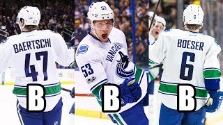 THE BBB LINE IS IN BUSINESS (Vancouver Canucks Forwards Sven Baertschi, Bo Horvat, And Brock Boeser)