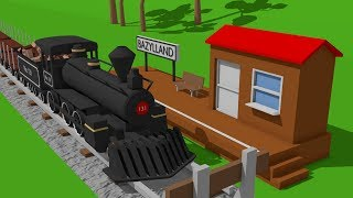 Train for Kids.Truck Excavator | Construction of the Train Station | Video for Bayby | Bajka koparka