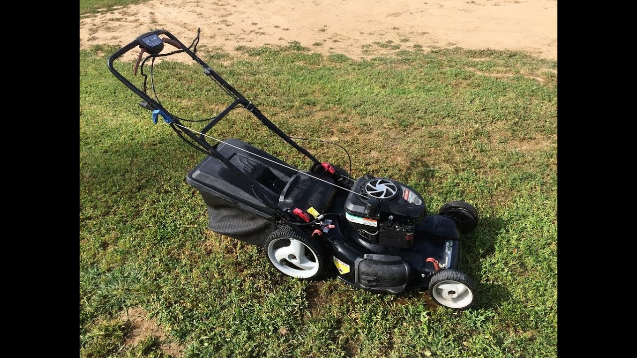 craftsman platinum 6 75 ez walk lawn mower youtube rh youtube com craftsman briggs and stratton platinum 7.00 190cc manual briggs and stratton platinum engine 190cc manual