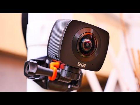 Cheapest 360° Camera - Elephone Elecam 360 Review