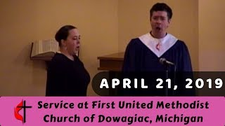 "Gambar cover ""Believing"" - Easter Sunday at FUMC Dowagiac 