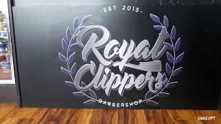 Royal Clippers Barbershop small sneak peek