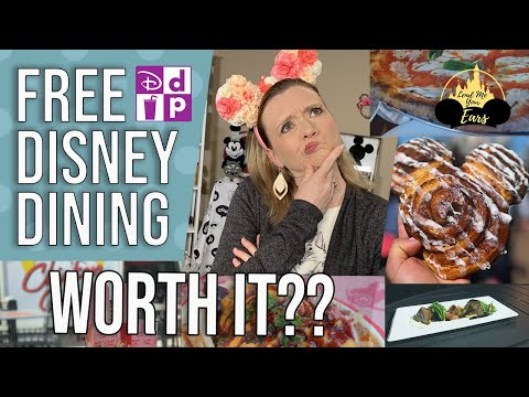 Free Disney Dining For 2020!  Is It Worth It?