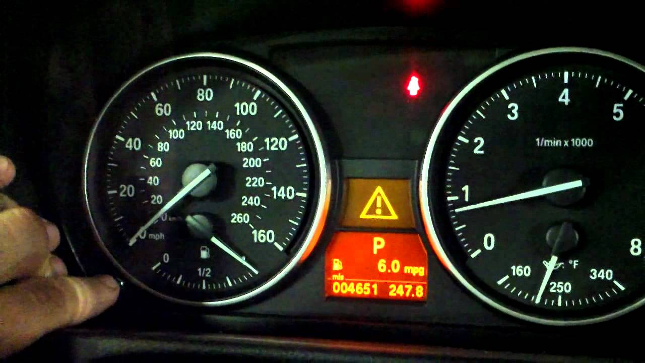 Bmw E90 Warning Light >> Resetting BMW Service Intervals - YouTube