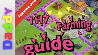 Clash Of Clans  [HOW TO] farm DE at TH7 and TH8 clash of clans guides