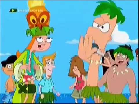 Phineas And Ferb Backyard Beach Song phineas and ferb | backyard beach - telugu - youtube