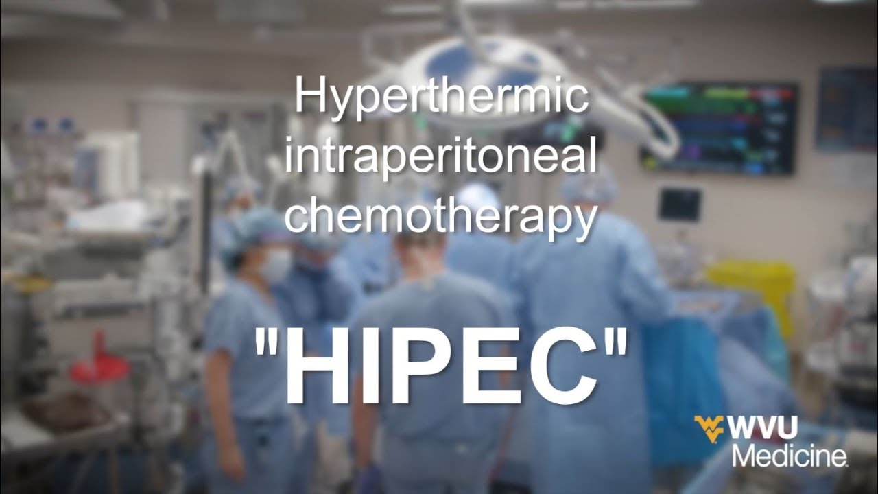 Wvu Medicine Health Report Hipec Aggressive Cancer Treatment Youtube