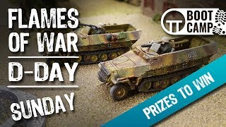 Welcome to Day Three of the Flames of War D-Day Boot Camp [Comment to Win!]