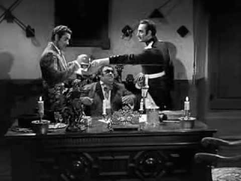 Zorro 1935  Tyrone Power & Basil Rathbone final duel