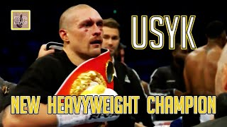 Oleksandr Usyk - New Heavyweight Champion