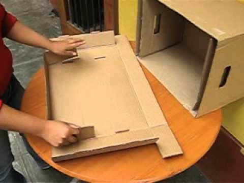 Armando una caja de archivo youtube - Como forrar una caja con tela ...