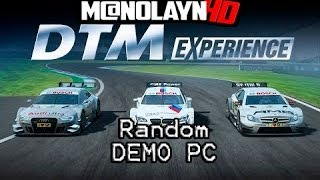 Random demo | DTM Experience | pc game | esp |