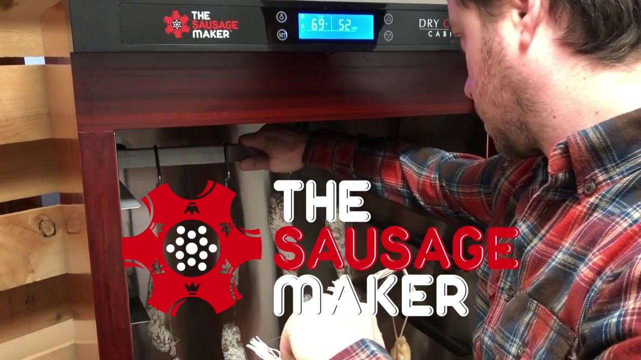 The Sausage Maker Dry Curing Cabinet For Home Charcuterie Making