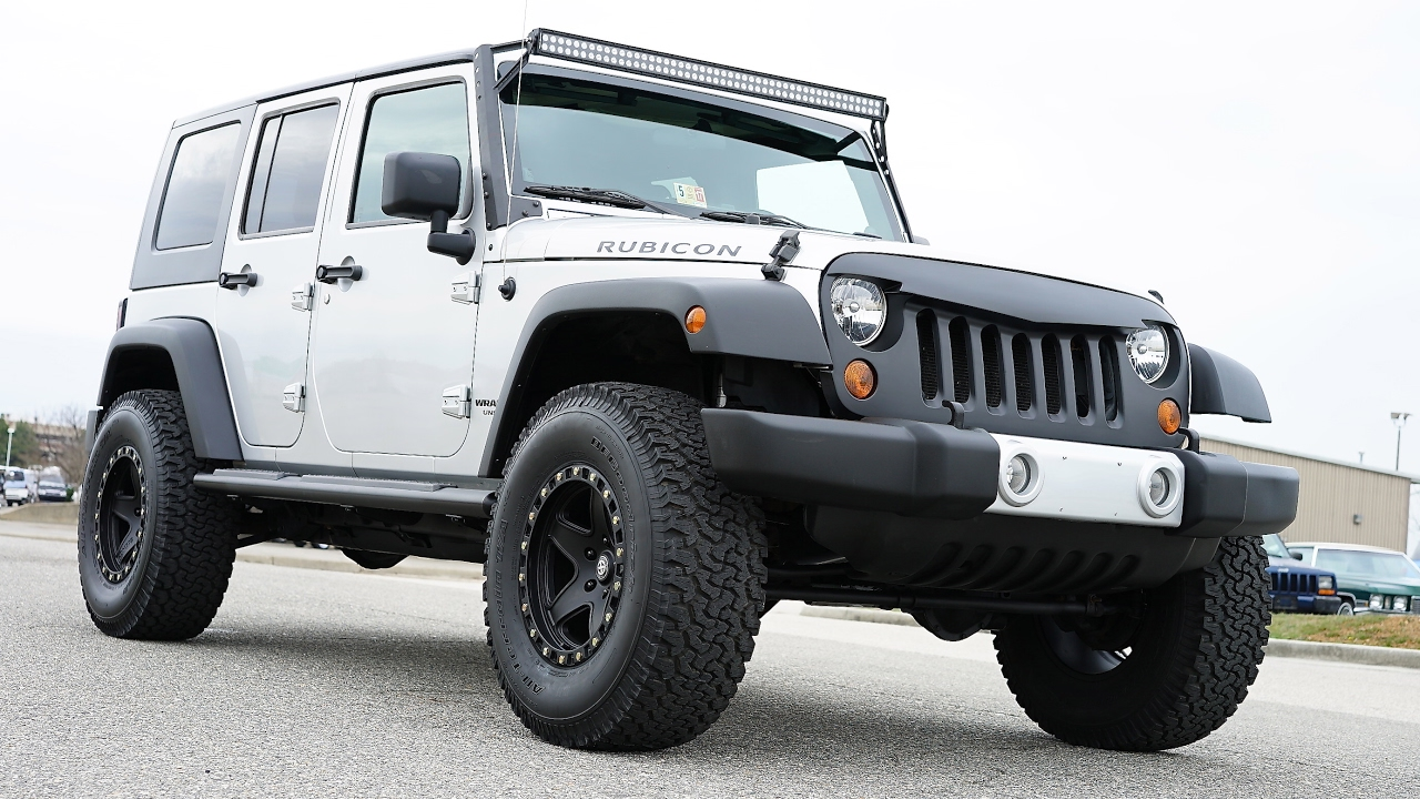 Davis AutoSports 2008 Jeep Wrangler Unlimited Rubicon