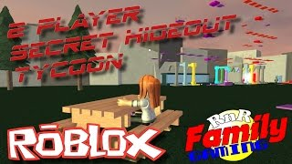 Lasst uns Roblox spielen! 2 Spieler Secret Hideout Tycoon Ep 01
