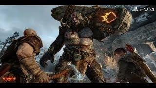 God of War 4 Cenas de Morte e Movimentos de Finalização Parte 1
