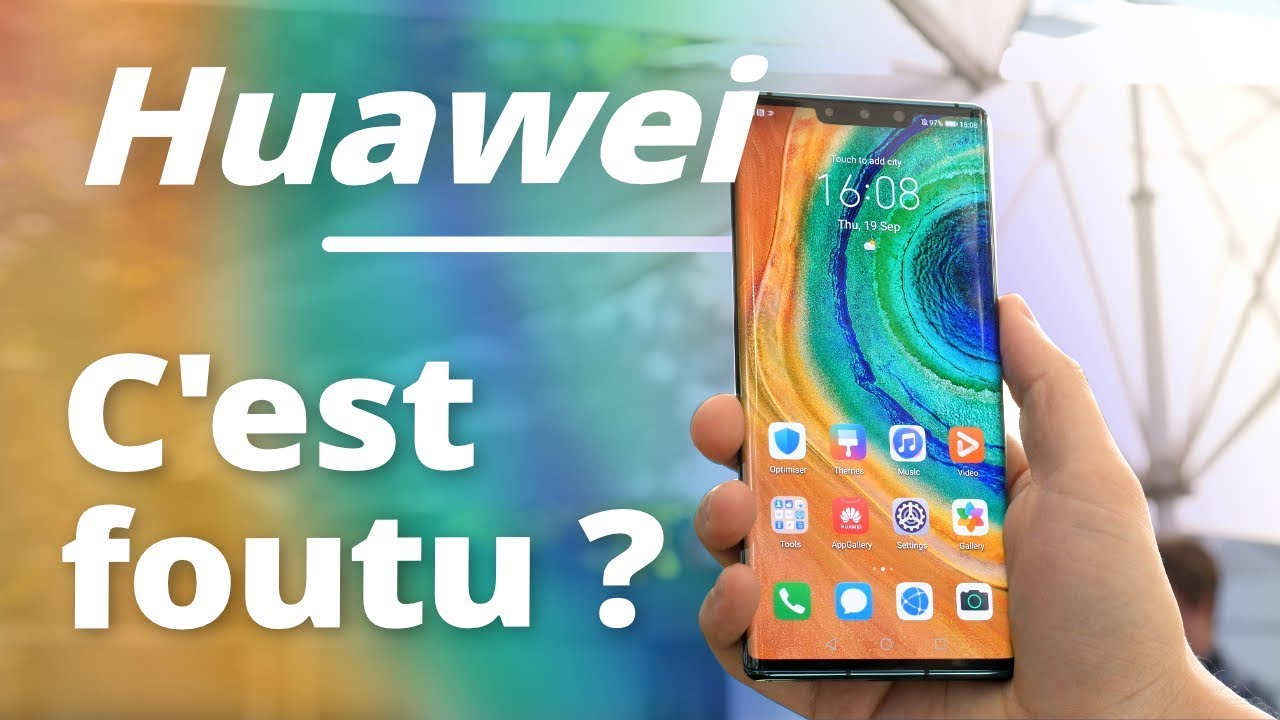 Le GOOGLE PLAY STORE sur le Huawei MATE 30 Pro, c'est possible !  #Smartphone #Android