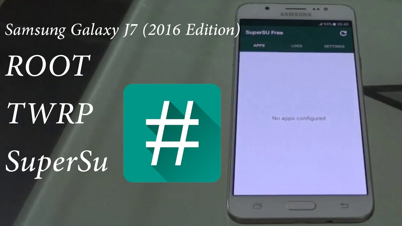 Root Samsung Galaxy J7 (2016 edition SM-J710FN/GN)