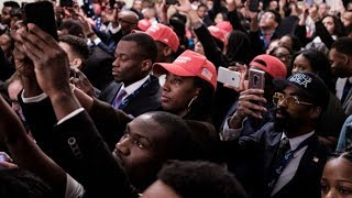 Young BIack Conservative Maga Trump Supporters on the Rise