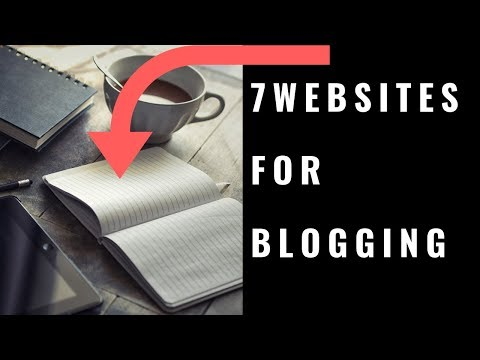 7 Websites For Blogging To Make Money Online   Passive Income