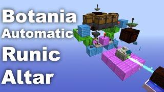Botania | Automatic Runic Altar | Tutorial