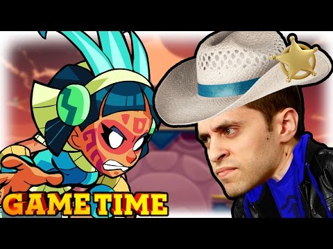 OUR NEW FAVORITE FIGHTING GAME (Gametime w/ Smosh Games)