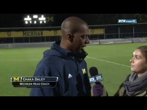 Post-Game Interview: Michigan Head Soccer Coach Chaka Daley