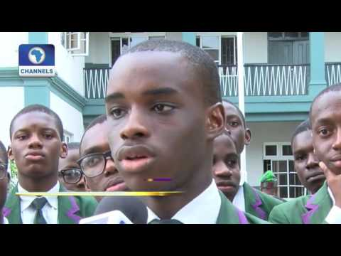 Metrofile: St  Gregory's College Old Boys Celebrate Fmr  Catholic Archbishop In Lagos