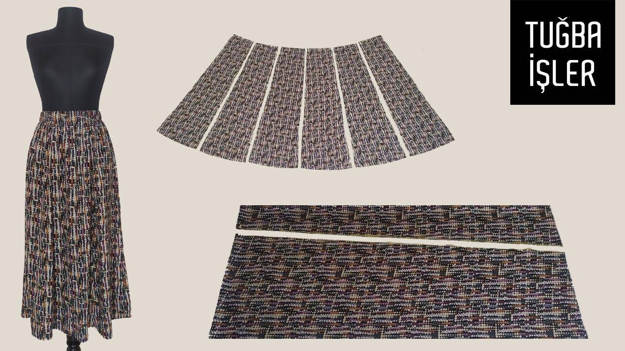 6 Pieces Skirt Cutting and Sewing | Tuğba İşler