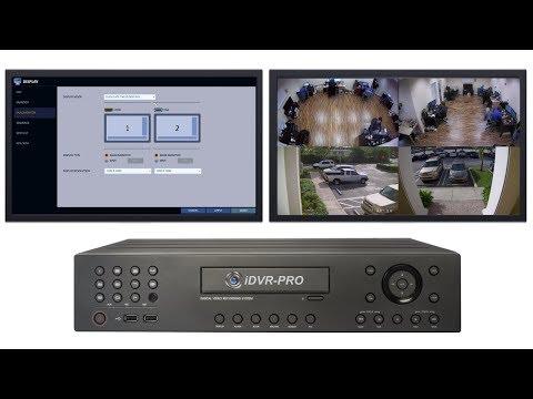Spot Monitor Live Video Display for iDVR-PRO HD CCTV DVRs