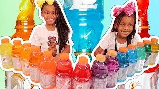 Don't Choose The Wrong Gatorade Bottle Slime