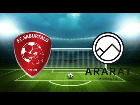 Сабуртало - Арарат 0-2. Лига Европы 2019/20, Квалификация. Обзор матча