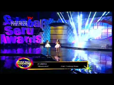 2 UNYU2 [E Masbuloh] Live At Global Seru Awards 2014 (17-04-2014) Courtesy GLOBAL TV