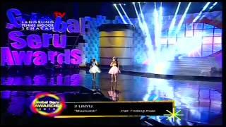 Gambar cover 2 UNYU2 [E Masbuloh] Live At Global Seru Awards 2014 (17-04-2014) Courtesy GLOBAL TV