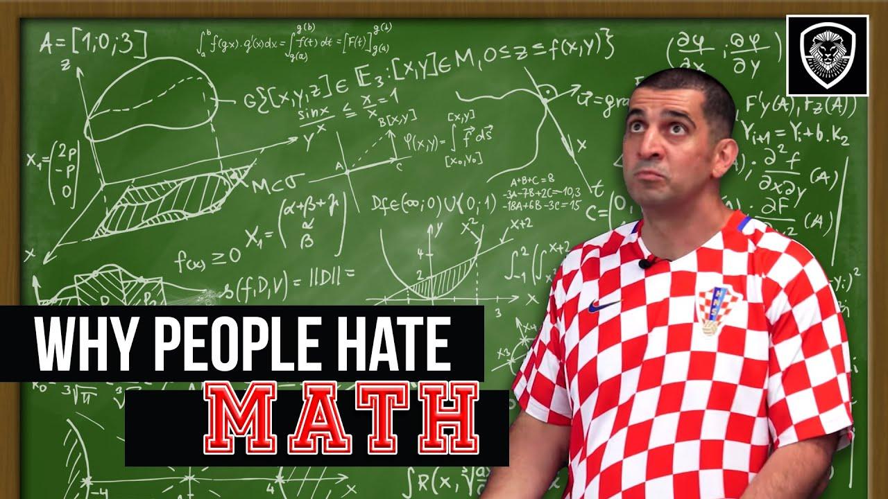 8 Reasons Why People Hate Math - YouTube I Hate Math Book