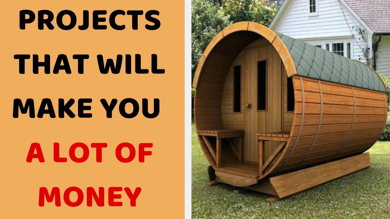 5 Most Profitable Woodworking Projects