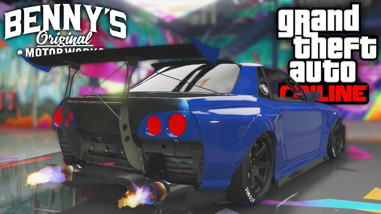 ELEGY RETRO CUSTOM | SKYLINE IN GTA!! | GTA 5 (Online)